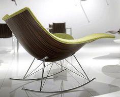 Sedia a dondolo contemporanea | Design & Style per la Casa | Scoop.it