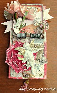 Love my Prima Stamp! Mouse Trap Diy, Mouse Traps, Altered Books, Altered Art, Crafty Projects, Projects To Try, Trap Art, Rat Traps, Arbour Day