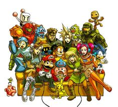 Video games come together!