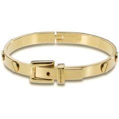 Michael Kors buckle bangle (GOLD)