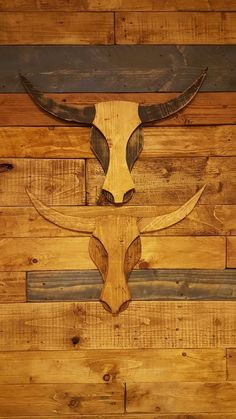 When I traveled recently through Utah, I came across a diner with some wooden bull's heads on the wall. I scribbled their basic layout in my notebook as an inspiration for my own version of it.It is very easy to build this wall decoration. You can built it in any size (mine is approx. 1m/3feet from horn tip to horn tip) and use any material. I took old scrap wood for my version, but cardboard would surely look very nice.