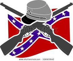 stock-vector-american-civil-war-confederacy-stencil****