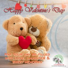 Happy Valentine's Day! May your day be filled with Love, laughter and sweet memories. Have a wonderful day and remember to share the love wherever you go! www.tekkietax.org  #tekkietax #makethecirclebigger #takehands #lovingtekkies #jamblikprojek South African Celebrities, Long Term Care Insurance, Sweet Memories, Disability, Grateful, Laughter, How To Find Out, Wings, Teddy Bear