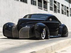 Кастом по мотивам модели Lincoln-Zephyr 1939 года 😎 {{AutoHashTags}}