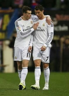 Bale and CR7. Stay back. We COMING
