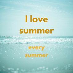 I Love Summer  http://www.birthdaywishes.expert