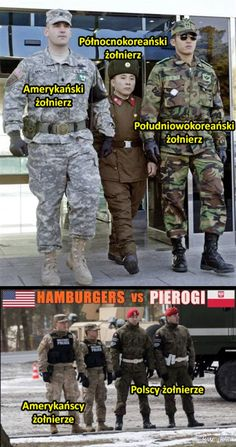 Żołnierze z różnych krajów Awsome Pictures, Polish Memes, Military Memes, Wtf Funny, Best Memes, Funny Images, Haha, Jokes, Fandoms