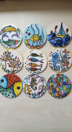 Pottery Painting Designs, Paint Designs, China Painting, Ceramic Painting, Stone Painting, Ceramic Clay, Ceramic Pottery, Ceramic Plates, Decorative Plates