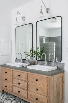 Hurricane Harvey Home Project by Light and Dwell. Before and After Modern, Light Master Bathroom and Living Room. Diy Bathroom Remodel, Budget Bathroom, Small Bathroom, Master Bathroom, Bathroom Ideas, Bathroom Renovations, Bathroom Inspiration, Bathroom Beach, Bathroom Grey