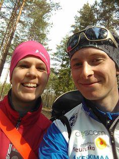 Asun tällä hetkellä poikaystäväni kanssa Jyväskylässä. Ulkoliikunta on myös yhteinen harrastus.