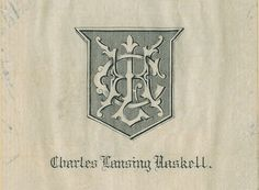 Bookplate Monograms