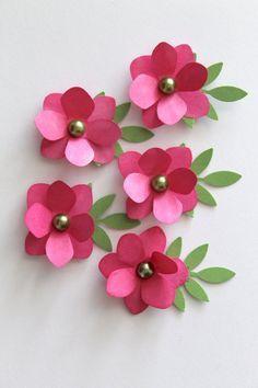 paper flowers diy - Buscar con Google