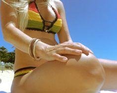 Häkelbikini-bikini crochet crochet bikini by AmDBeachwear