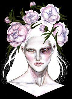 """Sasha"" by Rose Ellen Swenson #contemporary #painting"