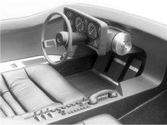 Opel CD, 1969 - Interior