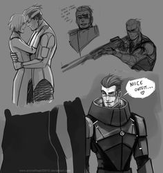 But in all seriousness, Human Garrus needs to be more of a thing. This man.