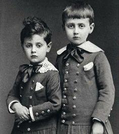 Robert e Marcel Proust, 1877
