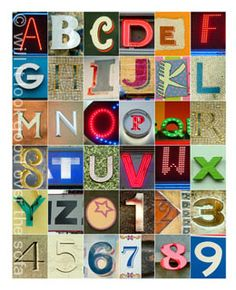 an idea for alphabet inchies!