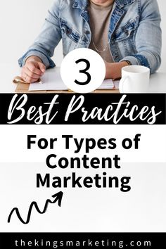 3 Best Practices For Types of Content Marketing. Content Marketing is an ever-evolving and increasingly important area of internet marketing that can be very successful for your business if done correctly and with the right content. It can also be very frustrating and can actually cause more harm than good to a business. #onlinebusiness #onlineentrepreneur #coachbusiness #contentmarketing #content Social Media Marketing Business, Content Marketing Strategy, Online Marketing, Online Business, Marketing Plan, Digital Marketing, Social Media Packages, Social Media Tips, Fashion Marketing