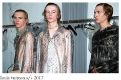 Extreme contrasts merged together in the same collection seems to be a common way to build a collection for many creative directors late. Creative Director, Contrast, Fur Coat, Menswear, Contemporary, Elegant, How To Wear, Jackets, Collection