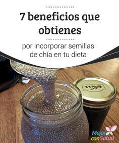 7 beneficios que obtienes por incorporar semillas de chía en tu dieta  Además de mejorar nuestro estado de ánimo al ser una fuente natural de triptófano, las semillas de chía también pueden ayudarnos a conseguir más energía e incluso a perder peso