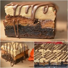 Reese's Stuffed Brownie and Peanut Butter Frosting - Hugs and Cookies XOXO