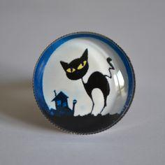 Bague chat de nuit - bague - cmoiekilaitfee - Fait Maison