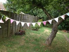 Retro bunting. Made by me for craft fair- Mums on the go, Wimbledon.