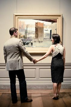 Art Gallery Engagement Session