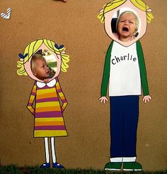 Charlie and Lola party