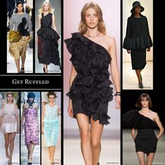 Top 14 trends from spring 2014: Get Ruffled. Less girly, more sculptural.