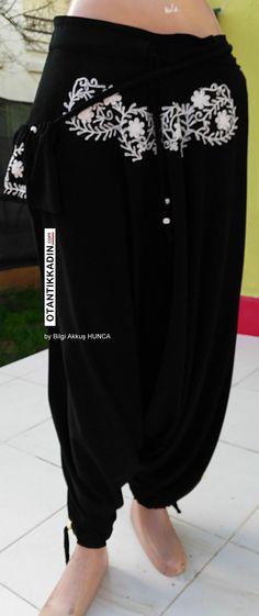 Otantik Şalvar 160216 Fiyat: 85 TL | Otantik Kadın, Otantik Giysiler, Elbiseler,Bohem giyim, Etnik Giysiler, Kıyafetler, Pançolar, kışlık Şalvarlar, Şalvarlar,Etekler, Çantalar,Takılar