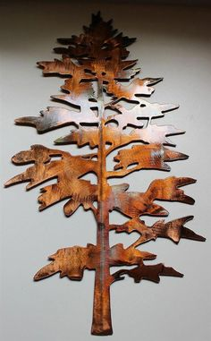 "- Wall Art Ideas - Majestic Pine Tree Metal Wall Art Decor Outstanding ""metal tree art"" detail is readily available on our web pages. Wall Art Crafts, Metal Wall Art Decor, Metal Tree Wall Art, Metal Art, Wall Decor, Colorful Wall Art, Art Mural, Art Art, Decorate Your Room"