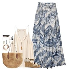 """Summer Nights"" by sc-prep-girl ❤ liked on Polyvore featuring Abercrombie & Fitch, H&M, Forever 21, TOMS, J.Crew, Alex and Ani, Sam Edelman, Urban Decay, Bobbi Brown Cosmetics and Kevyn Aucoin"