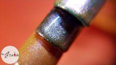 Jak zrobić efekt chameleon, tutorial, krok po kroku - paznokcie hybrydowe ♡
