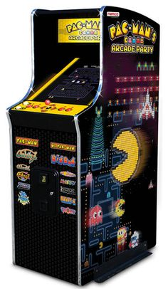Relive the classic arcade action in a full-size cabinet with the Pac Man Arcade Machine. Unlike the older Namco Pac-Man Arcade Game, this version includes 13 Arcade Game Room, Arcade Game Machines, Arcade Machine, Pac Man Arcade, Retro Arcade Games, Mini Arcade, Vending Machine, King Of Fighters, Unique Man Cave Ideas