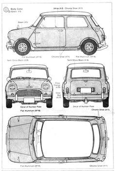 Morris Mini Cooper 1275 - the mini……a legend……! Mini Cooper Classic, Mini Cooper S, Classic Mini, Classic Cars, Mini Morris, Automobile, Mini One, Car Drawings, Small Cars