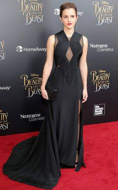 Emma Watson from The Big Picture: Today's Hot Photos  Beauty in black! The actress stuns on the red carpet at the New York premiere of Beauty And The Beast.