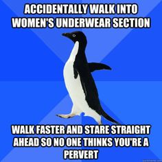 chair makes fart-sounding noise in quiet room desperately tries to recreate noise to show everyone it wasn't what they thought it was Socially Awkward Penguin Marquis, Socially Awkward Penguin, Penguin Meme, Penguin Nails, Anxiety Cat, Social Anxiety, 4 Panel Life, Funny Quotes, Funny Memes