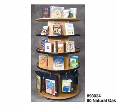 Circular Book Browser Displayers