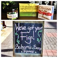Like Figs? We've got fig soap, tapenades and balsamic!  www.theoldworldworldoliveco.com