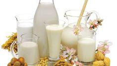 Latte e bevande vegetali: soia, riso, mandorle, avena, ecc.