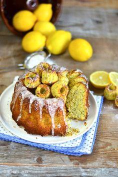 Polenta Zitronen Mohn Kuchen (Glutenfrei) | Das Knusperstübchen