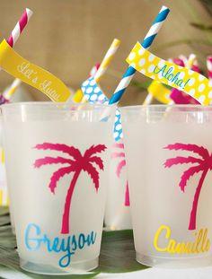 Bright  Cheerful Island Style Luau Party