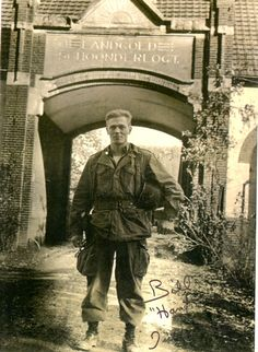 Dick Winters in Holland, October 1944
