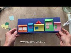 krokotak | SNOWY WINTER TOWN Craft Activities For Kids, Crafts For Kids, Arts And Crafts, Paper Crafts, Summer Fun For Kids, Art For Kids, Family Fun Games, Winter Art Projects, Girl Scout Crafts