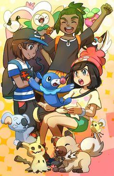 Pokémon Sun and Moon♥
