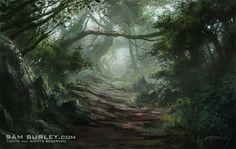 Forest 01 by samburley.deviantart.com on @deviantART