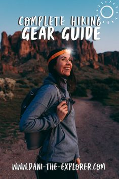 Wondering what hiking gear you need for your next adventure? Take a look at this hiking gear guide created by hiker Dani Rodriguez AKA Dani The Explorer! Hiking Gear Women, Best Hiking Gear, Hiking Bag, Backpacking Tips, Hiking Tips, Hiking Backpack, Camping Gear, Best Hiking Shoes, Outdoor Travel