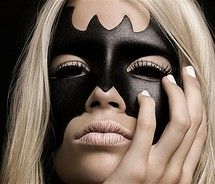 @Ellie Baker for your cat woman costume-- black contacts and fake eyelashes! yes.